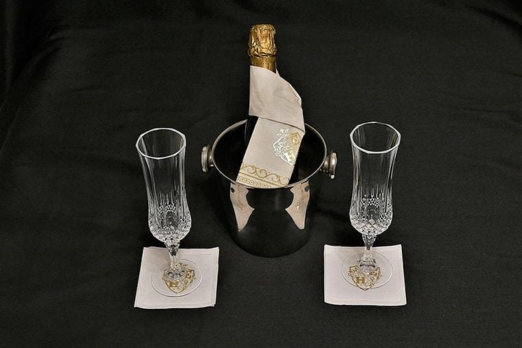 Sélection de champagne brut